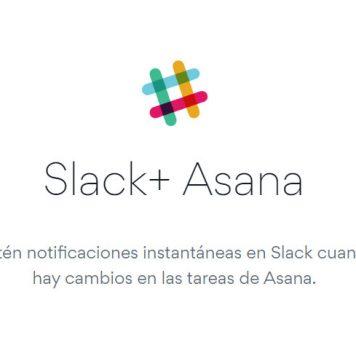 Asana y Slack juntos