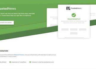 Trusted News, la extensión de Chrome para combatir fake news
