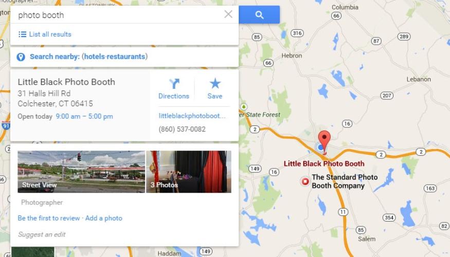 Con Google My Business aparecerás en los resultados de búsquedas locales