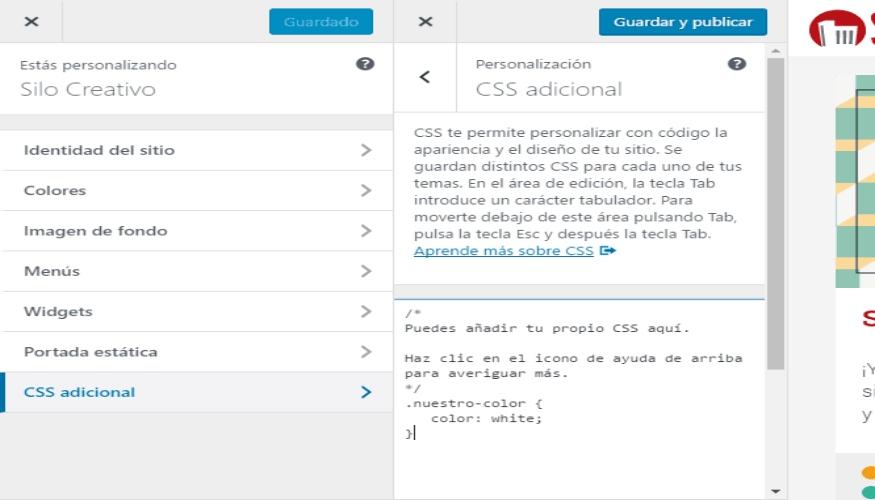 Los CSS son hojas de estilo en cascada