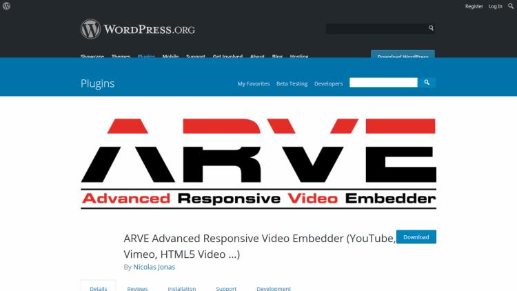 ARVE Advance Responsive Video
