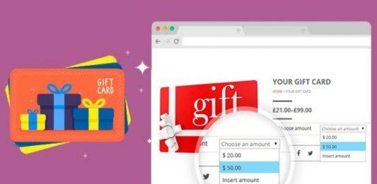 Pasos para crear gitf cards en WooCommerce