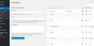 Beneficios de usar etiquetas en WordPress