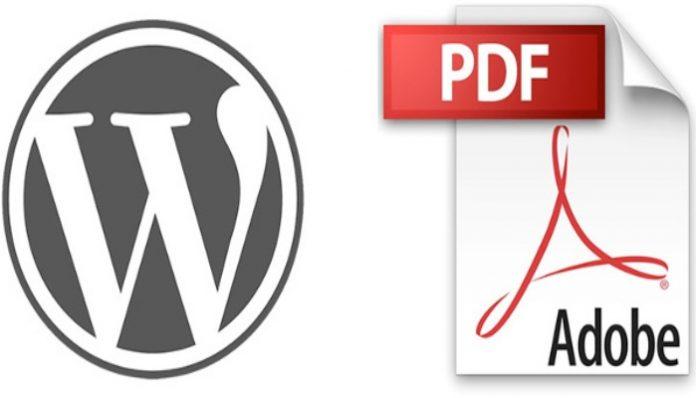 Aprende a insertar archivos PDF en WordPress