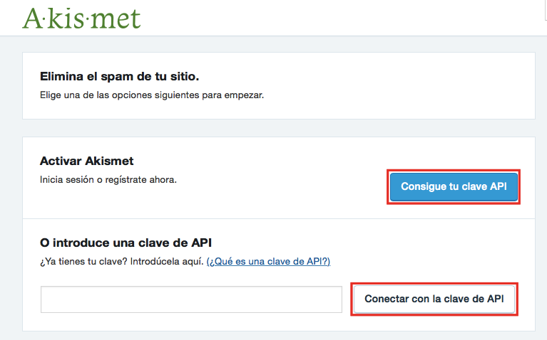 Cómo activar protección anti spam con Akismet