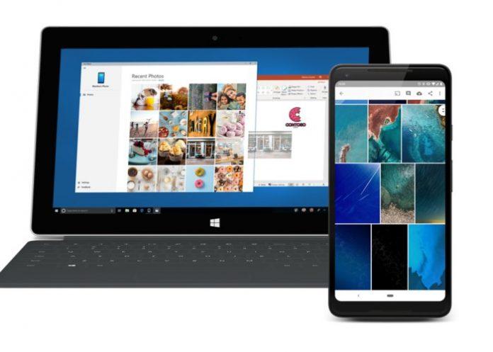 Your Phone de Microsoft permitirá acceso a archivos Android en un ordenador