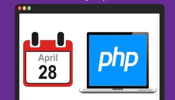 Pasos para sumar y restar fechas en PHP