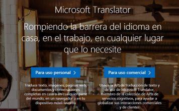 El servicio de traducciones de Microsoft