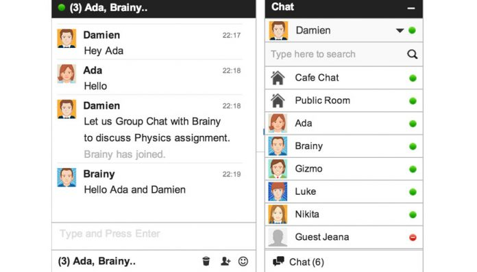 anadir un chat a tu blog