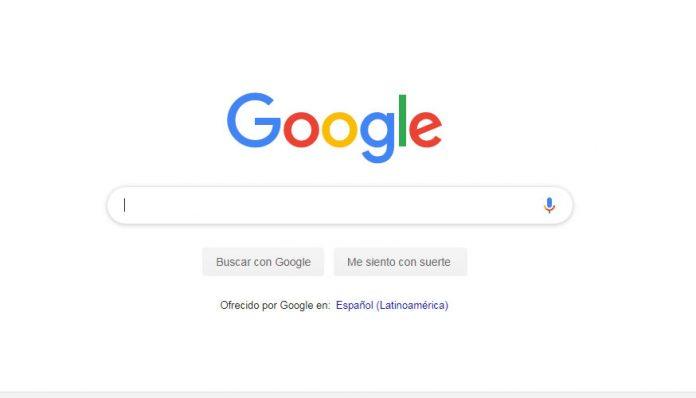 La búsqueda de google