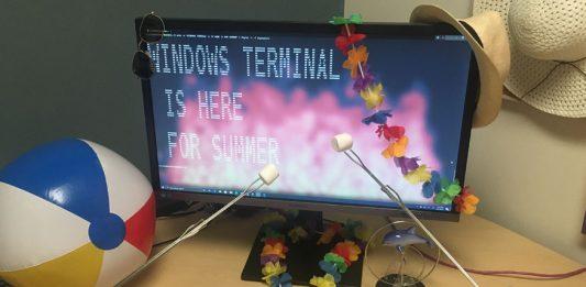 nueva terminal de windows