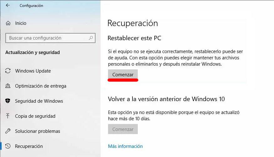 como formatear windows 10