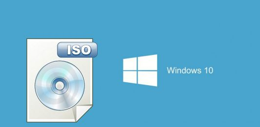 montar o grabar la imagen ISO