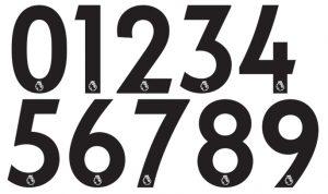 Tipografía para números