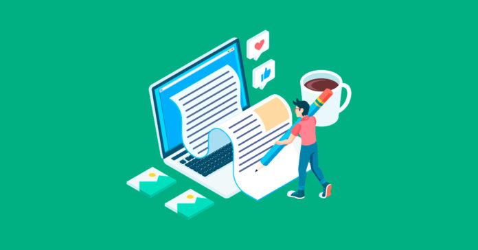 seguir un proceso para crear contenido